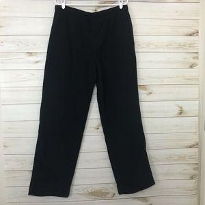 Men's Columbia Omni-heat Black Fleece Pants, Large